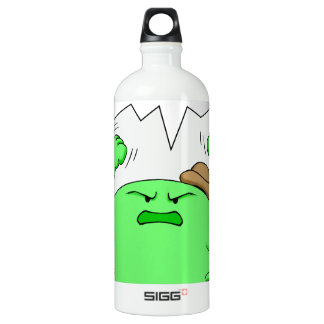 Cheese Strong Aluminum Water Bottle