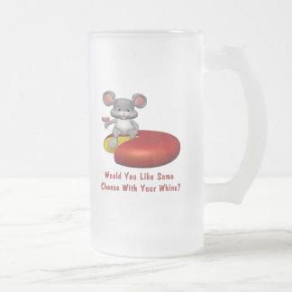 Cheese With Your Whine Coffee Mug