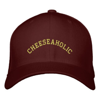Cheeseaholic - Cheese Lover Embroidered Baseball Cap
