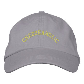 Cheeseaholic - Cheese Lover Embroidered Baseball Hat