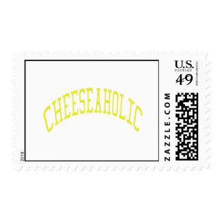Cheeseaholic - color de fondo de encargo sellos