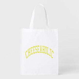 Cheeseaholic Grocery Bag