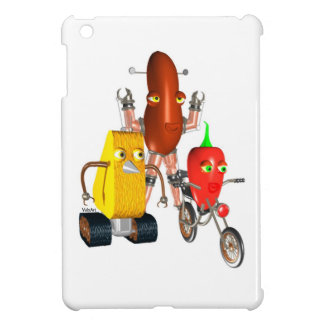CheeseBot BeanBot and PepperBot Cover For The iPad Mini