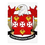 Cheesebrough Family Crest Custom Invitations