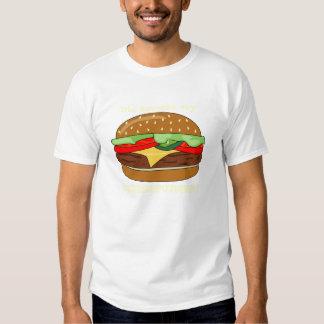 ¿Cheeseburger - alguien dijo el CHEESEBURGER? Playeras