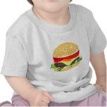 Cheeseburger americano camisetas