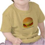 ¡cheeseburger, amo los cheeseburgers! camiseta