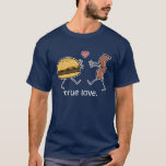 "Cheeseburger and Bacon ""True Love"" Shirt (Dark)"