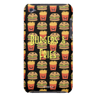 Cheeseburger and Fries iPod Case-Mate Cases