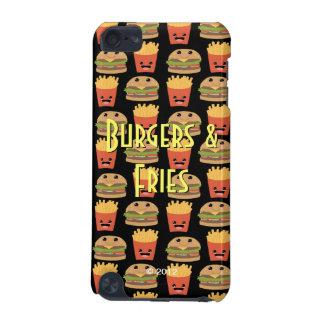 Cheeseburger and Fries iPod Touch 5G Case