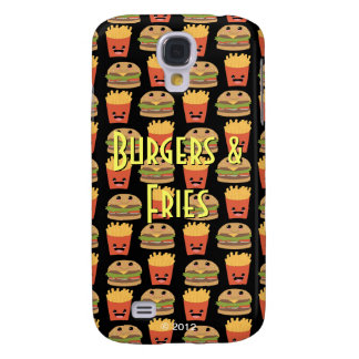 Cheeseburger and Fries Galaxy S4 Cover
