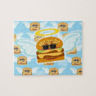 Cheeseburger Angel Jigsaw Puzzle
