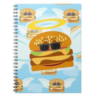 Cheeseburger Angel Notebook