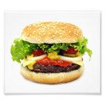 Cheeseburger Arte Fotográfico
