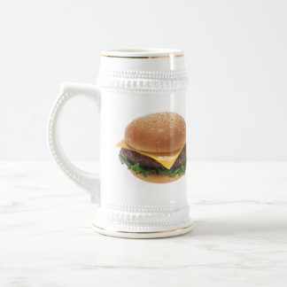 Cheeseburger Beer Stein