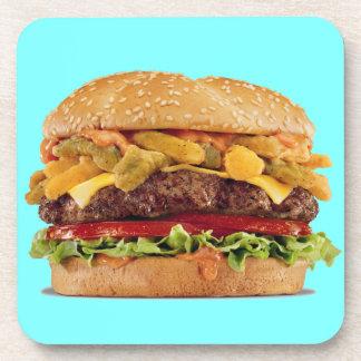 Cheeseburger Beverage Coaster