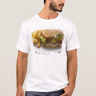 Cheeseburger, bites taken, with chips T-Shirt