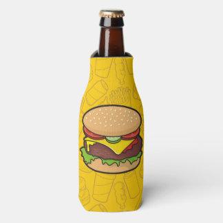 Cheeseburger Bottle Cooler