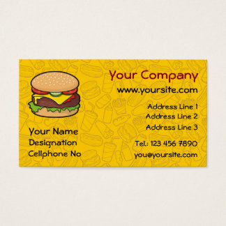 Cheeseburger Business Card
