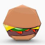 "Cheeseburger Cartoon Acrylic Award<br><div class=""desc"">Cheeseburger Cartoon</div>"