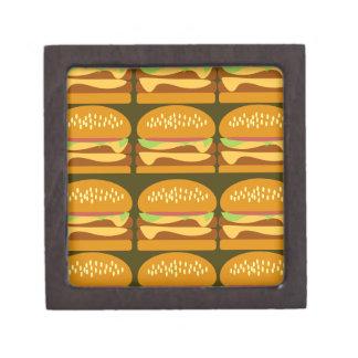 Cheeseburger Cheeseburger Keepsake Box