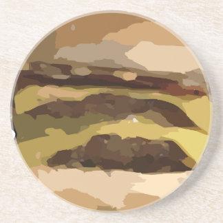 Cheeseburger Coaster