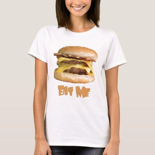 Cheeseburger - cómame playera