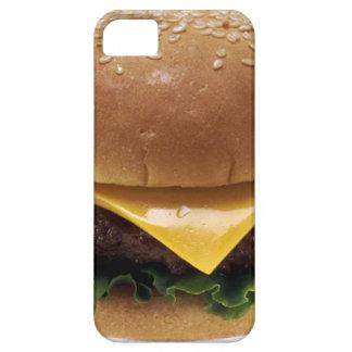 Cheeseburger de la comida del almuerzo del iPhone 5 Case-Mate cárcasa