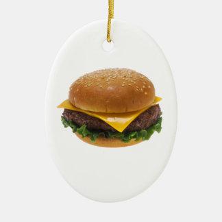 Cheeseburger Adornos De Navidad