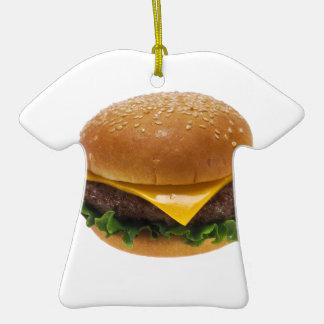 Cheeseburger Ornamento De Navidad