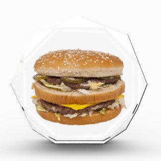Cheeseburger double fast food award