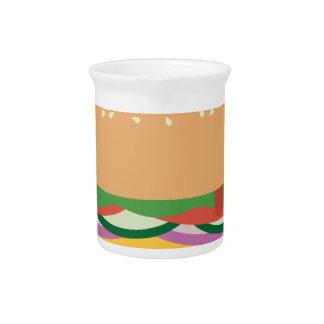 Cheeseburger Drink Pitchers