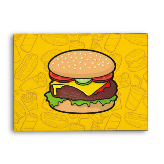 Cheeseburger Envelope