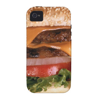 Cheeseburger Vibe iPhone 4 Fundas