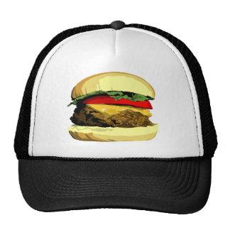 Cheeseburger Gorros Bordados