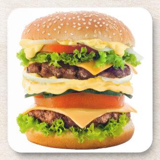 Cheeseburger grande posavasos