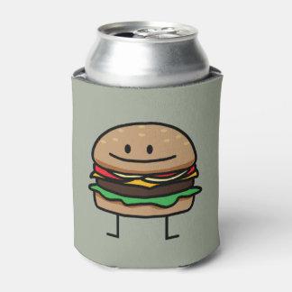 Cheeseburger Hamburger ground meat Beef cheese bun Can Cooler