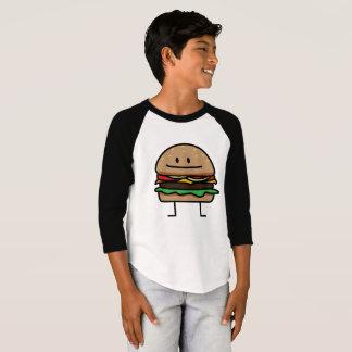 Cheeseburger Hamburger ground meat Beef cheese bun T-Shirt