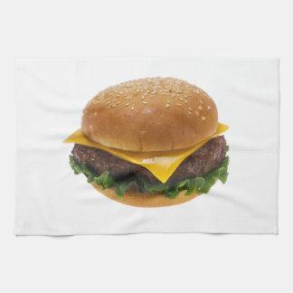 Cheeseburger Hand Towel