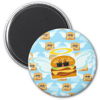 Cheeseburger Heaven 2 Inch Round Magnet