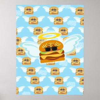 Cheeseburger Heaven Poster
