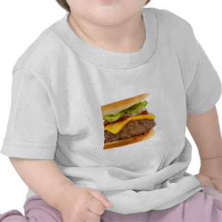 Cheeseburger jugoso camisetas