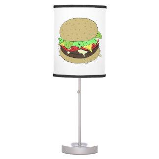 Cheeseburger Lámpara De Escritorio