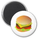 cheeseburger magnet
