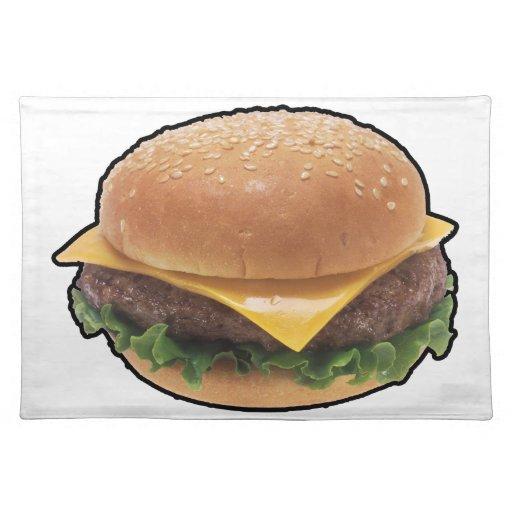Cheeseburger Manteles
