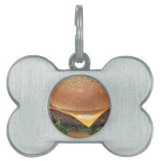 Cheeseburger Placas De Mascota