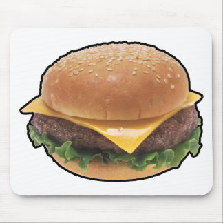 Cheeseburger Mouse Pads