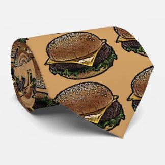 Cheeseburger Neck Tie