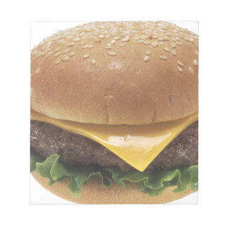 Cheeseburger Notepad