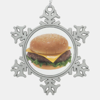 Cheeseburger Ornament